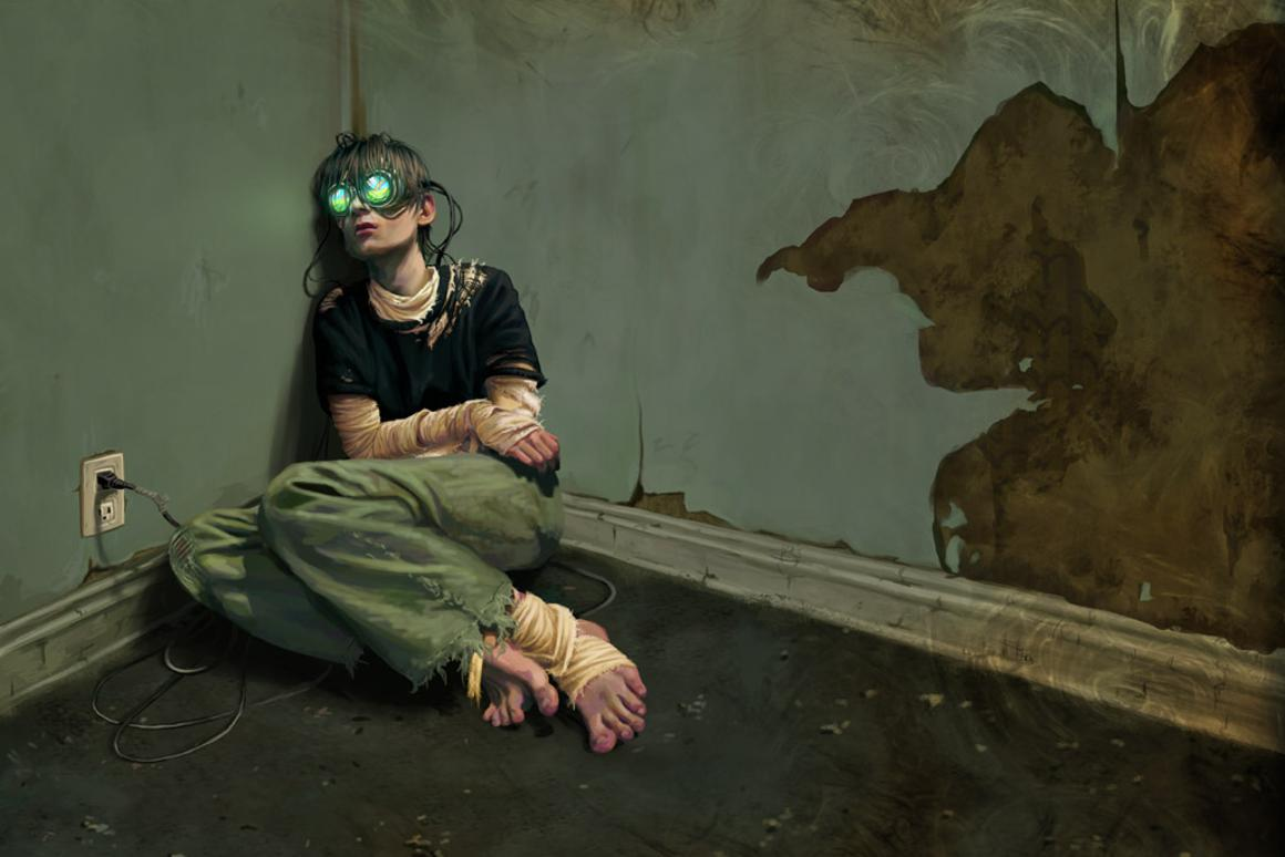 Gaming addiction: Psychological problem or social disorder? Image credit: Eran Cantrell (http://pyxelated.deviantart.com/)