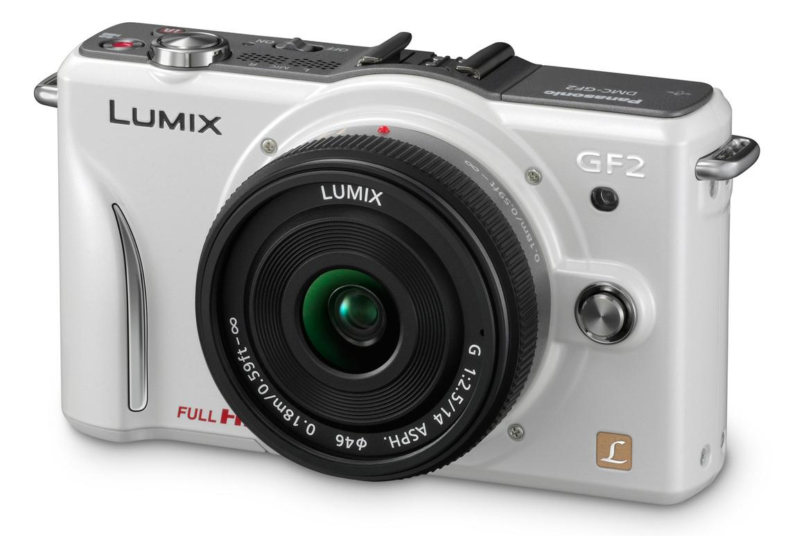 Panasonic's newest addition to its LUMIX Micro Four Thirds camera range - the DMC-GF2 - squeezes a host of new features into a frame that's a good deal lighter and smaller than its predecessor