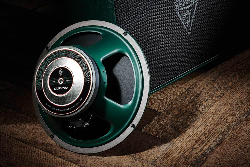 The Kemper Kone is a 12-inch full-range speaker developed specifically for Kemper by Celestion
