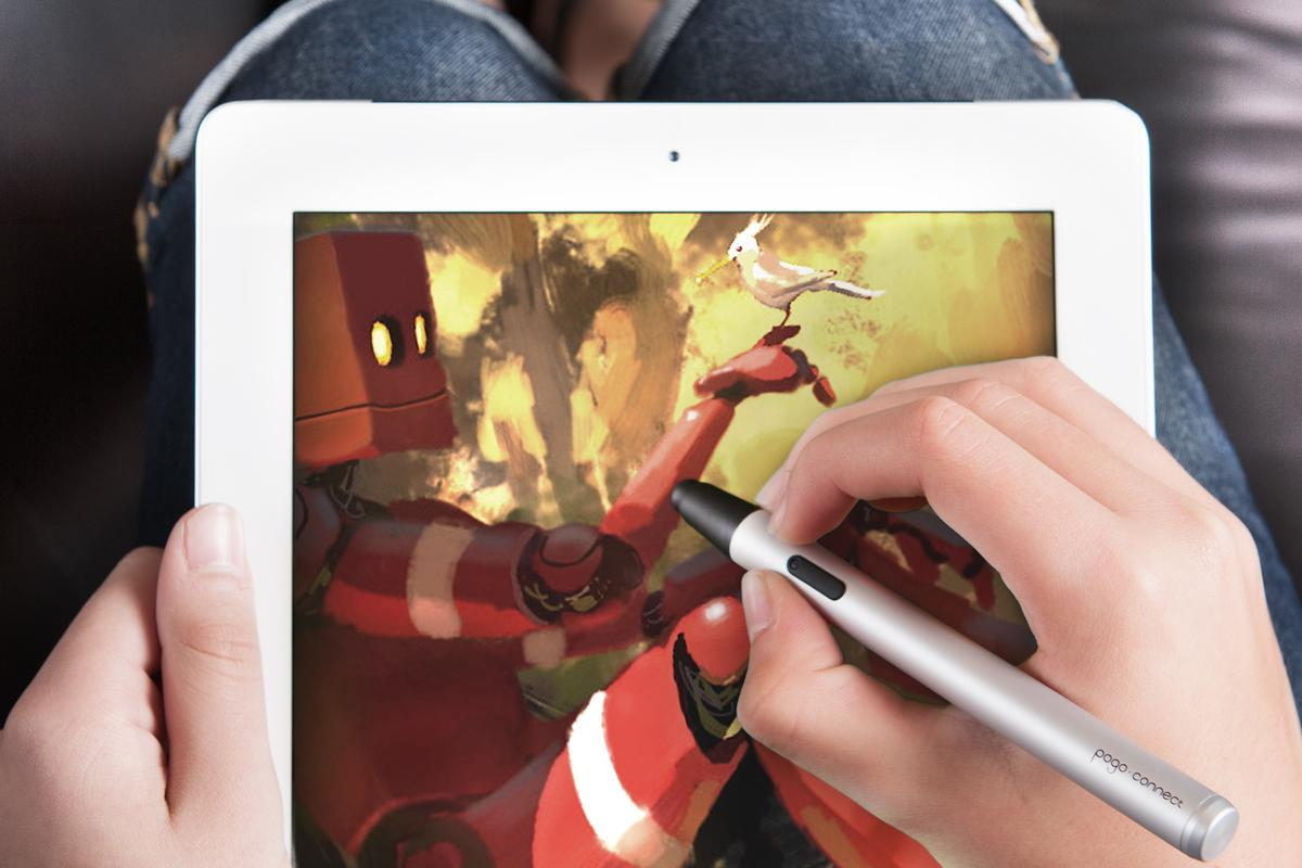 The Pogo Connect provides greater control for artistic endeavors on an iPad
