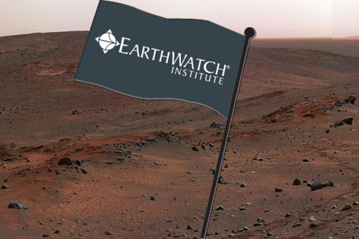 Is Earthwatch sending an expedition to Mars? (Image: NASA JPL)