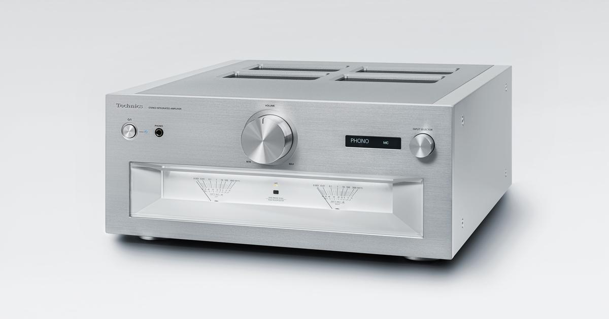 Technics launches first Reference Class integrated amp