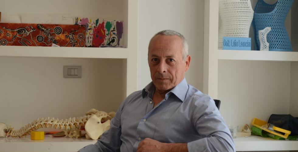 "Dr. Lelio Leoncini began 3D-printing experimental ""orthopedic corsets"" in 2014"