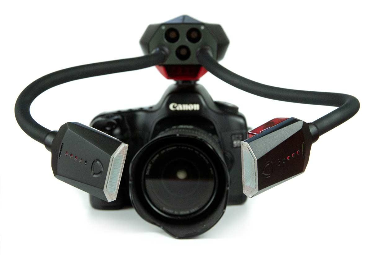 The Adaptalux Xenon flash arms system has launched on Kickstarter