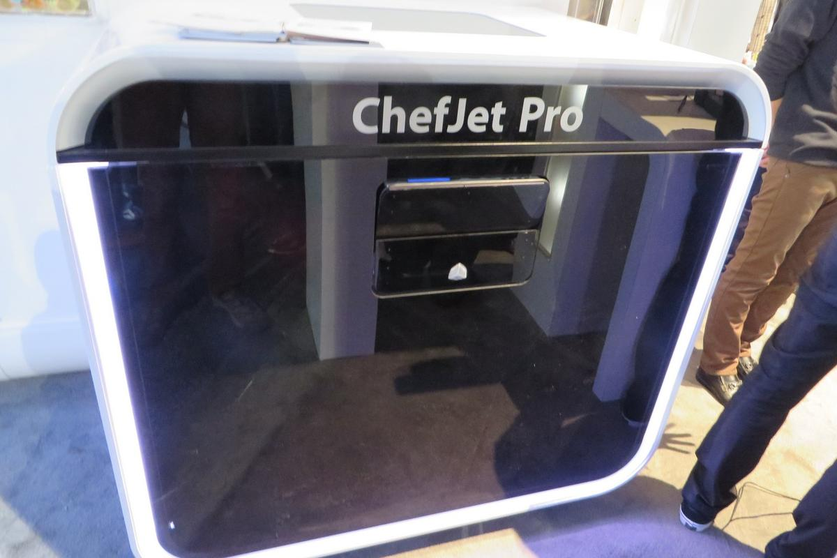 3D Systems unveiled the ChefJet and ChefJet Pro (pictured) at CES