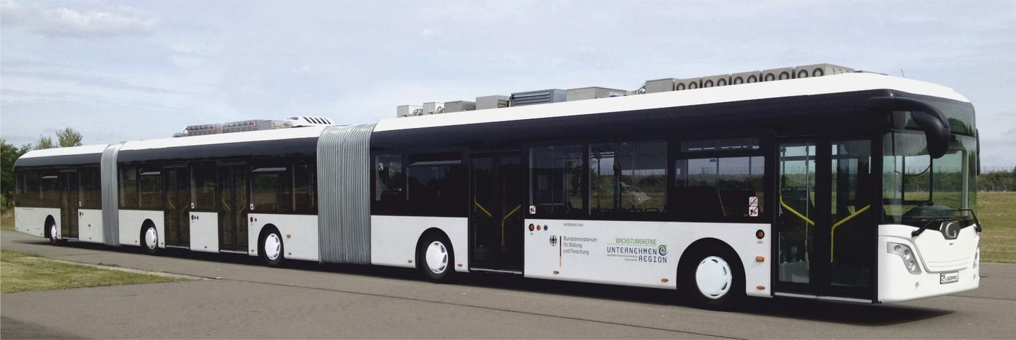 The AutoTram Extra Grand carries 256 passengers (Photo: Fraunhofer IVI)