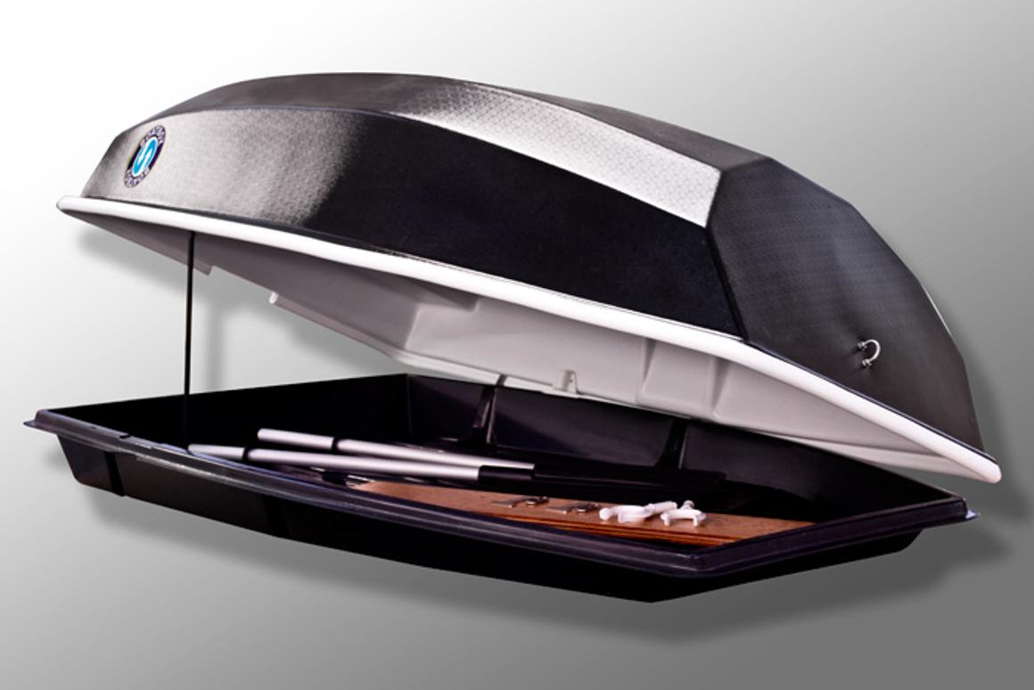 The lid of the Boatbox detaches to serve as a boat
