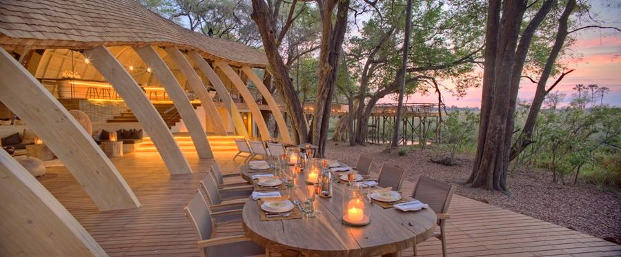 Sandibe Okavango is a newly built, sustainable and off-grid safari eco-lodge