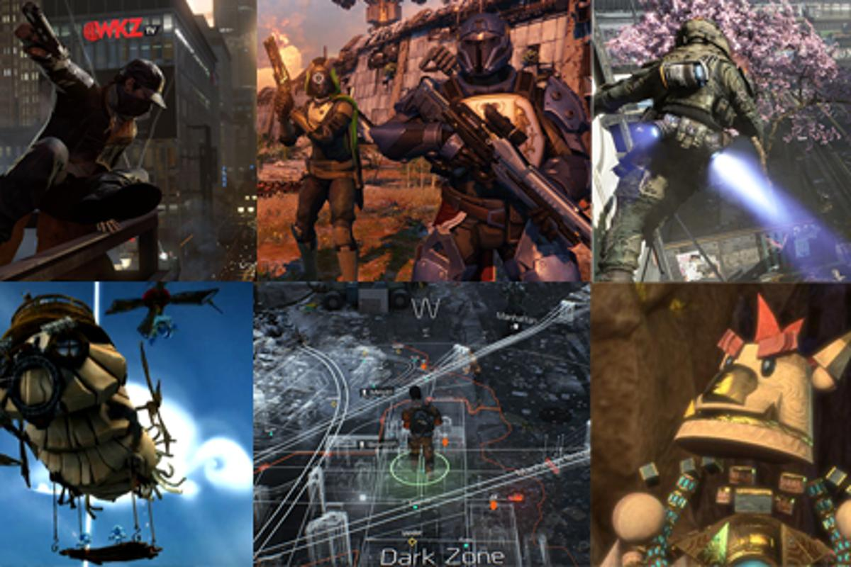 Gizmag highlights the top 10 next-gen games from E3 2013, all slated for the Xbox One and Playstion 4