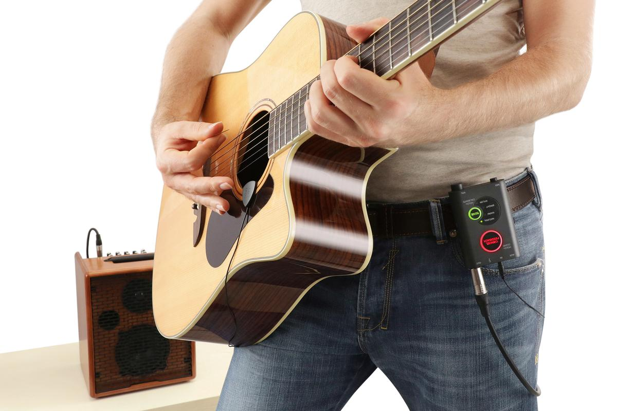 The iRig Acoustic Stage from IK Multimedia