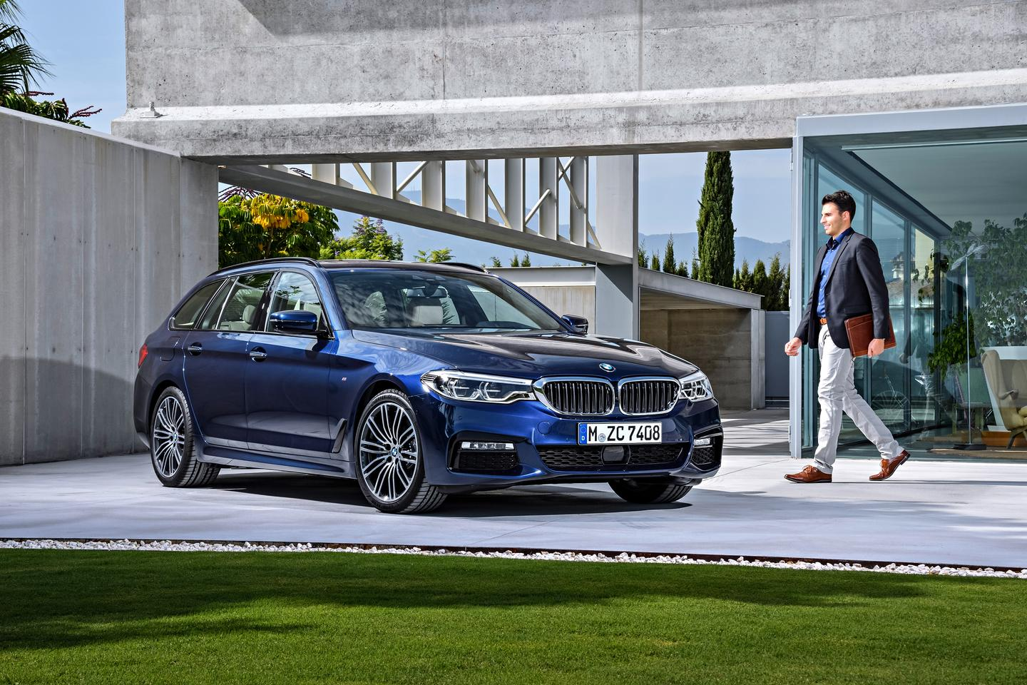 The new BMW 5 Series Touring is a pretty take on the wagon formula