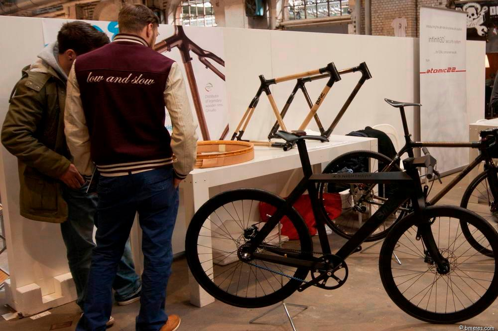 The X-9 Nighthawk complete bicycle, on display in Berlin