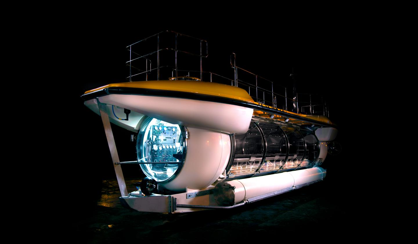 The DeepView 24, a spectacularly panoramic 24-seat tourist submarine, has just launched in Vietnam