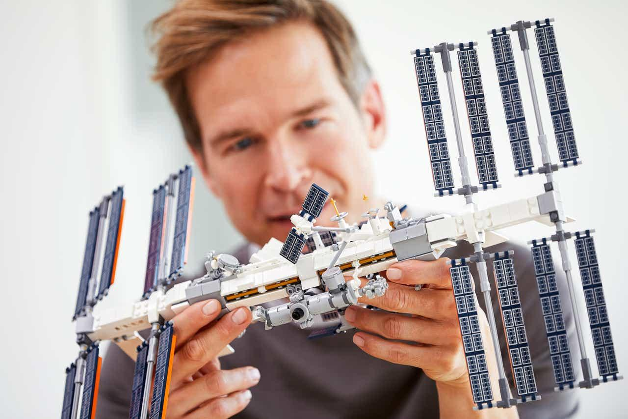 The Lego Ideas International Space Station kit will be available from February 1 for a price of US$70