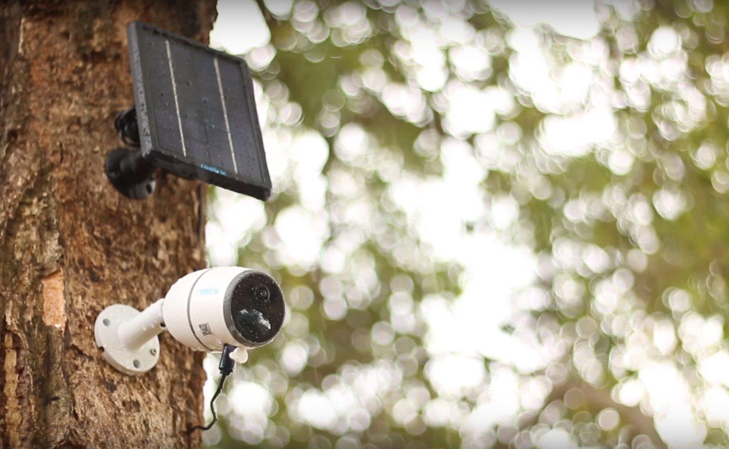 The Reolink Go's battery is reported good for 500 minutes of live view footage, but connection to an optional solar panel could mean a set and forget installation