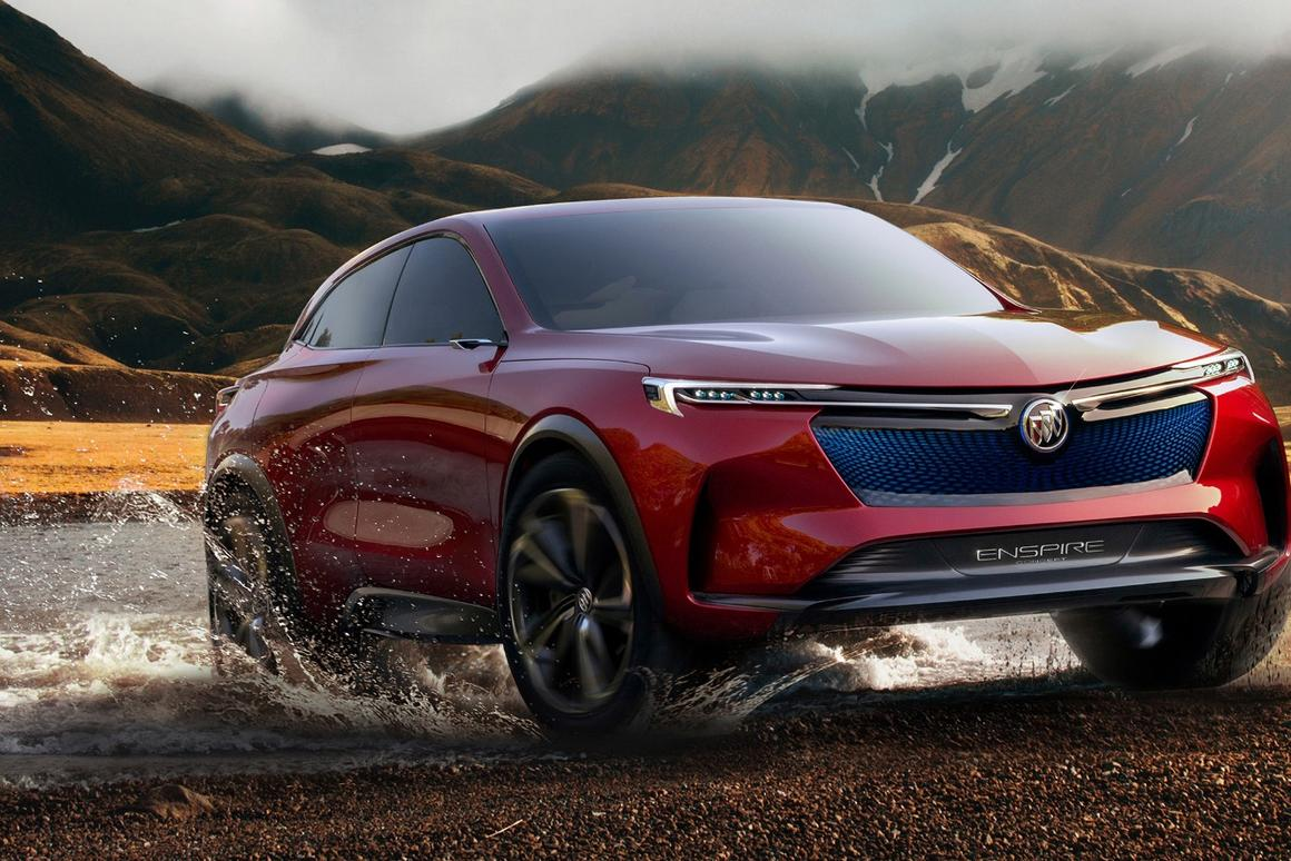 A sleeker, more electrifying Buick SUV