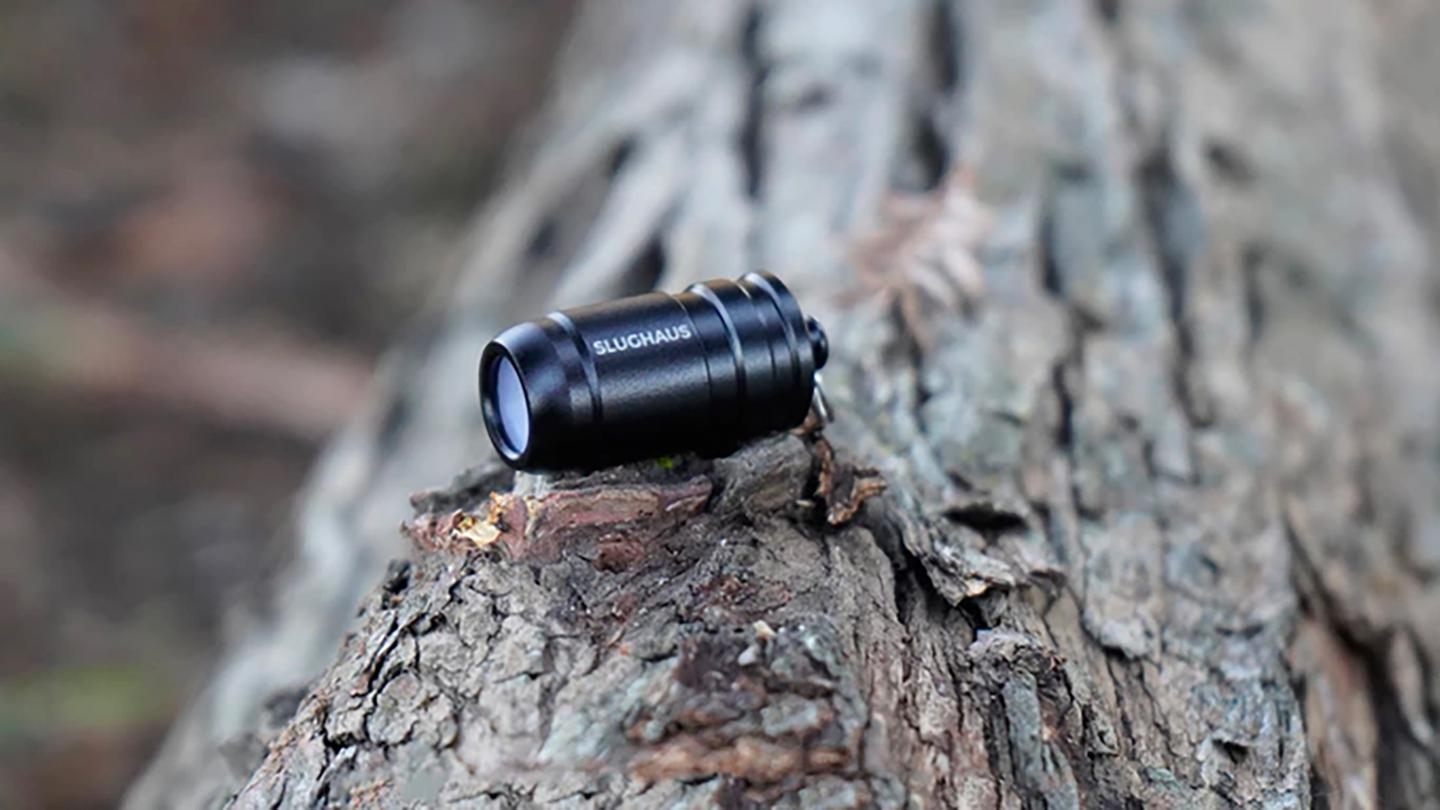 The Bull3t fits to your keychain and offers 100 lumens brightness