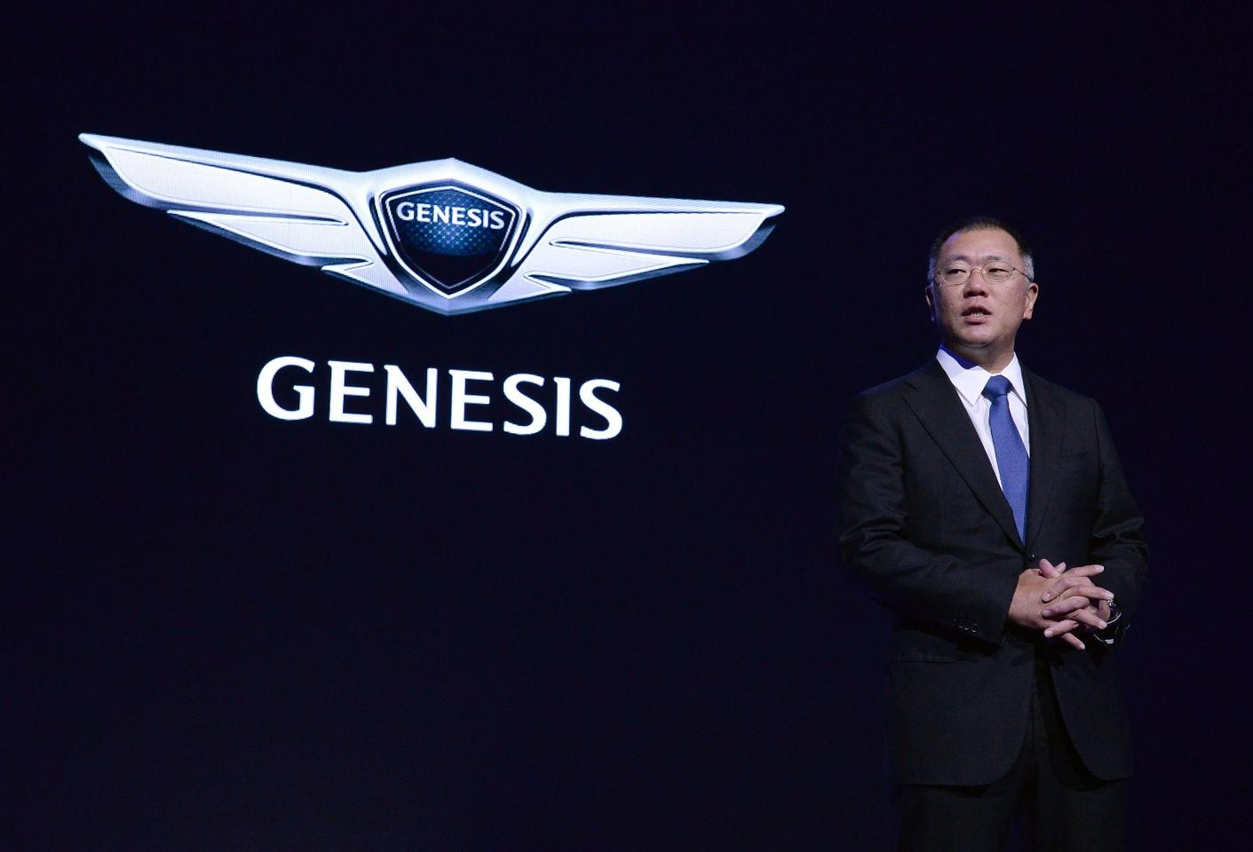 "Hyundai says it is targeting the ""highest standards of performance, design and innovation"" with its new Genesis marque"