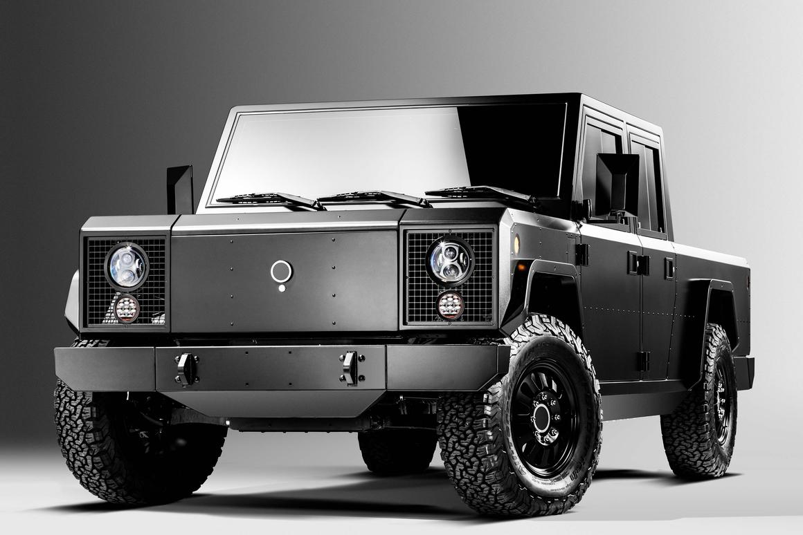 Bollinger Motors has revealed beta prototypes of its B1 (pictured) and B2 electric off-roaders