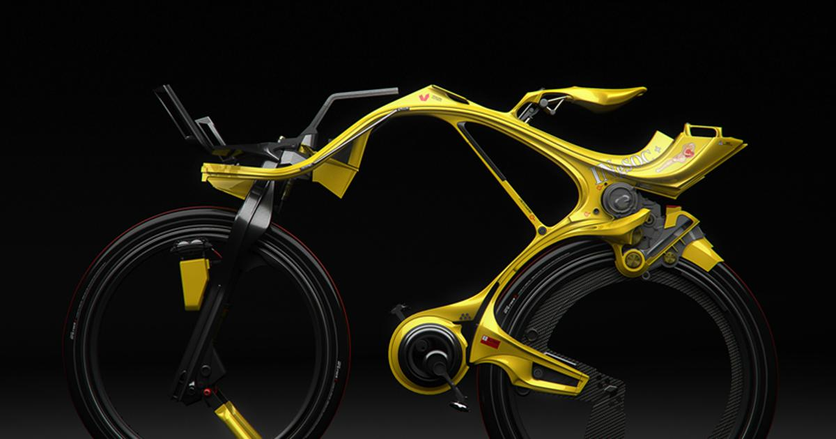 The other-worldly INgSOC hybrid bike concept
