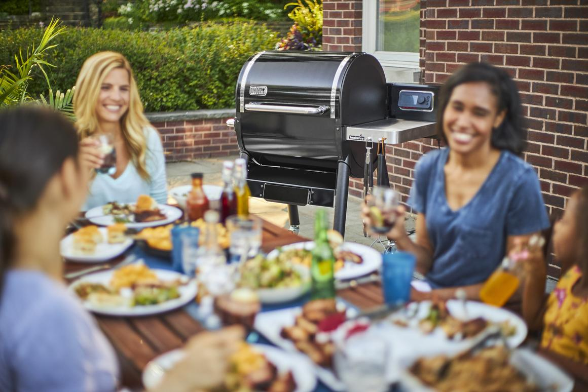 Weber's smaller SmokeFire grill is priced at US$1,000 and the larger version at $1,200