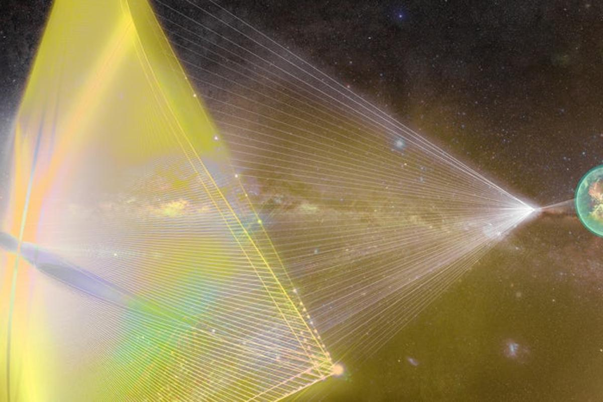 The Breakthrough Starshot program plans to send tiny probes to Alpha Centauri, and a German physicist has now outlined a possible braking system called a magnetic sail