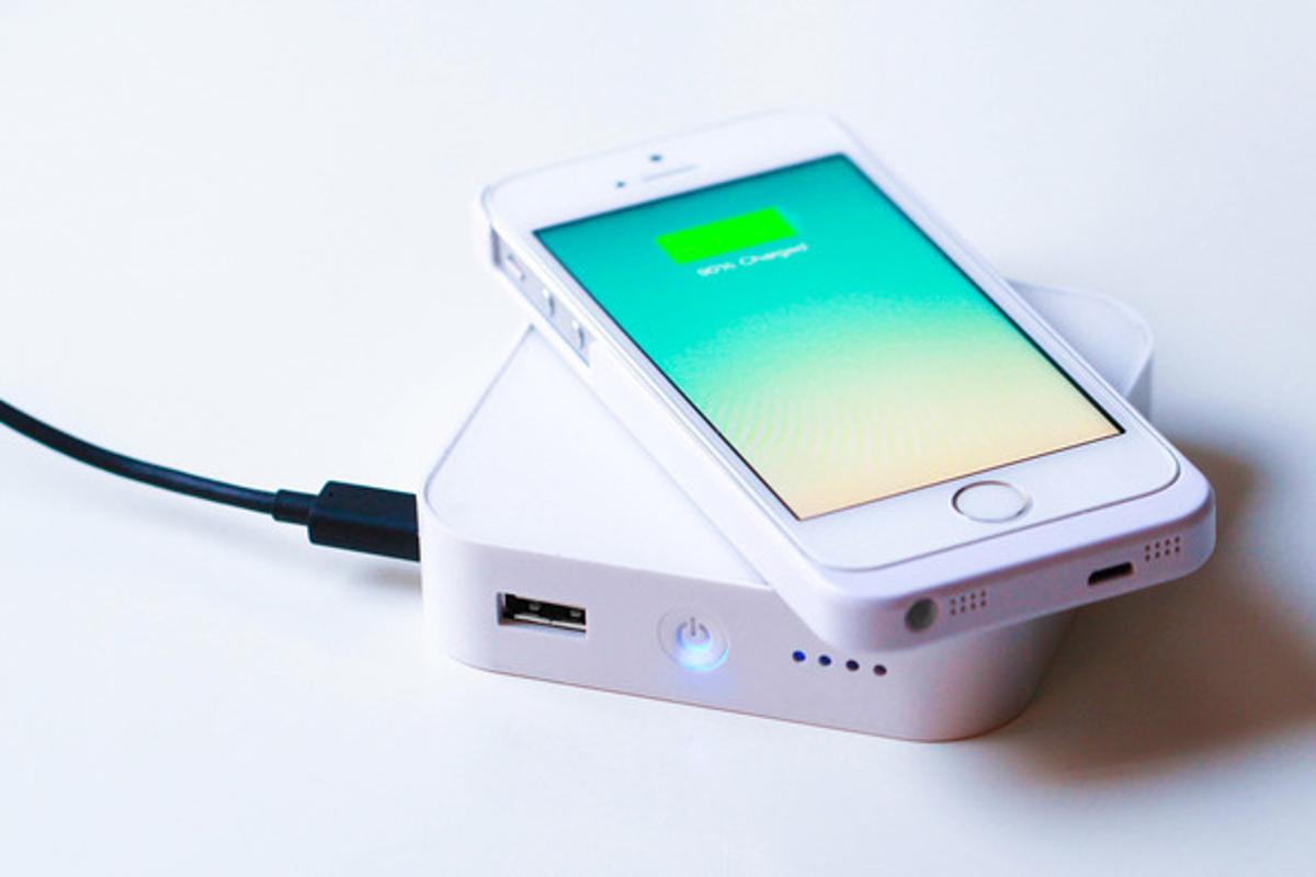 The ARK is a new portable wireless charger from Bezalel