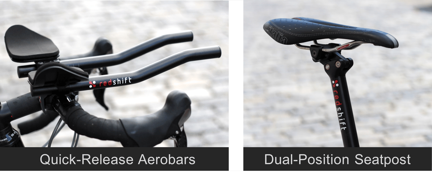 The two parts of the Switch Aero System