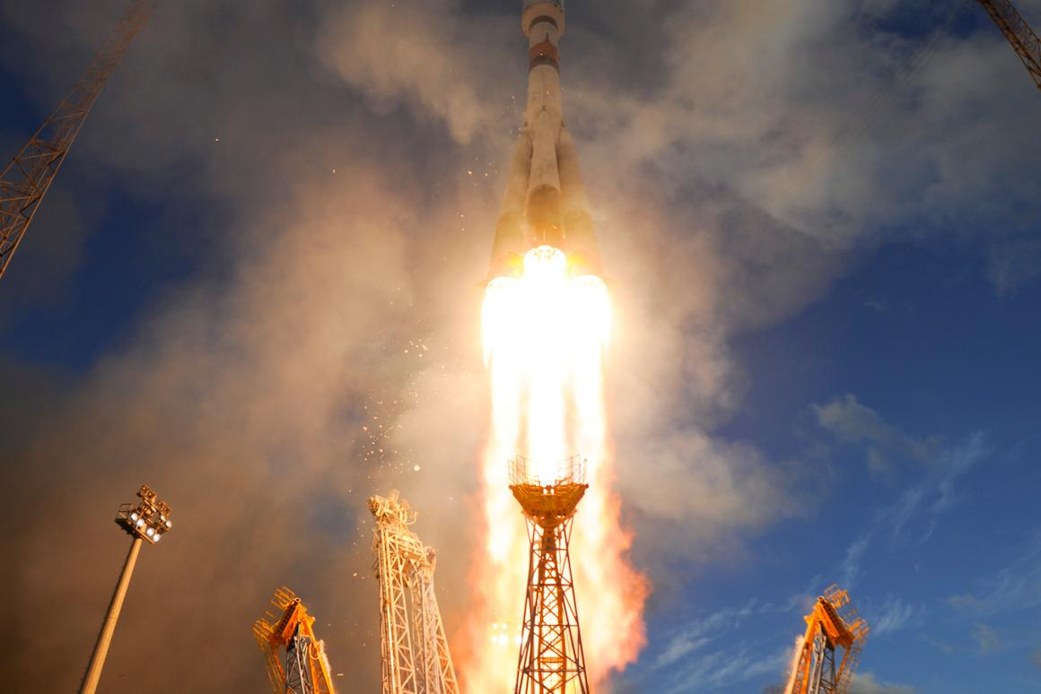 The Sentinel 1A satellite was launched from Europe's Kourou Spaceport, French Guiana, on April, 3rd (Photo: ESA–S. Corvaja)