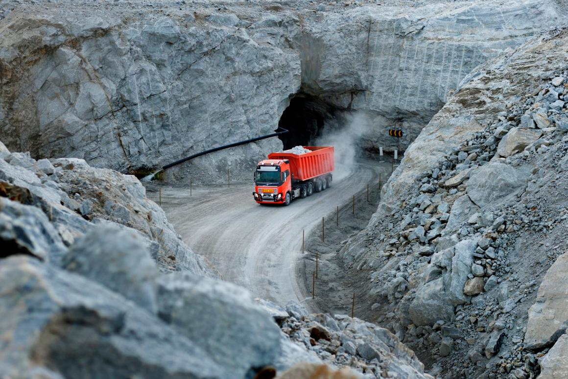 Test runs with human supervisors were completed at the Norwegian mine, before the keys were handed over to the computer for total autonomy