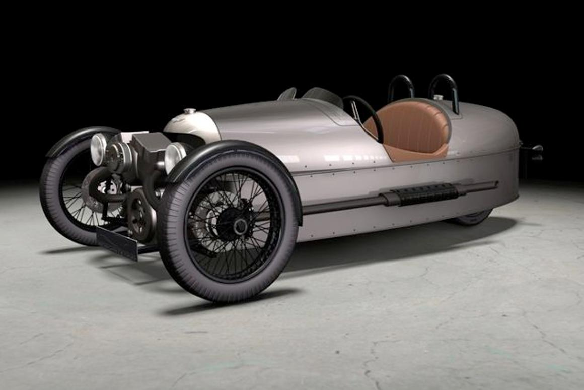Morgan Motor Company is re-issuing its iconic Threewheeler automobile