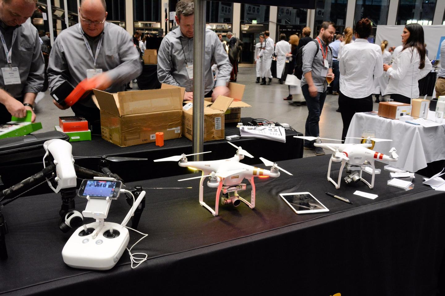 DJI announced a firmware update for its Phantom 3 family at IFA 2015
