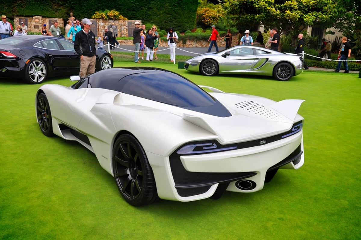 The Tuatara at the 2011 Concours d'Elegance Pebble Beach