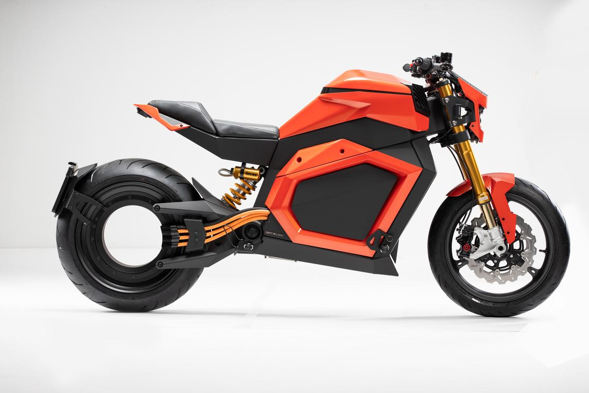 The Verge TS, a remarkable looking Finnish electric motorcycle