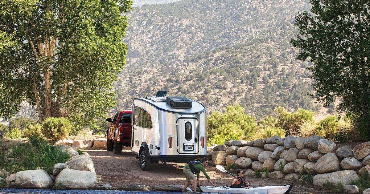 Airstream's rugged Basecamp X trailer is built to venture farther off road