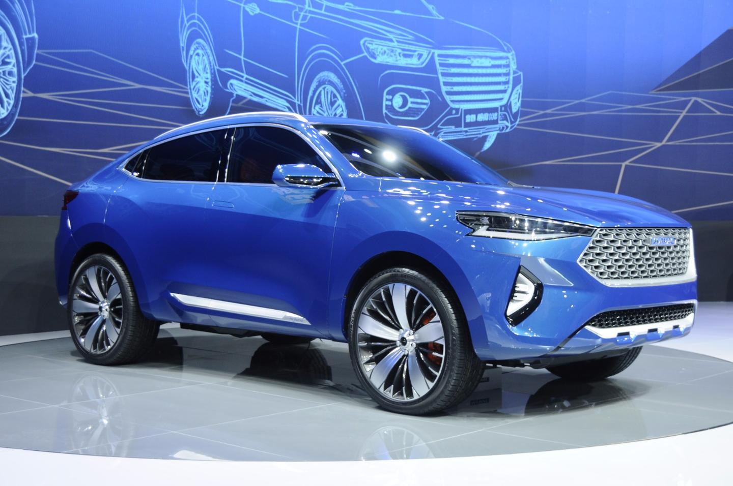 The Haval HB-03 concept is a bit derivative in its styling