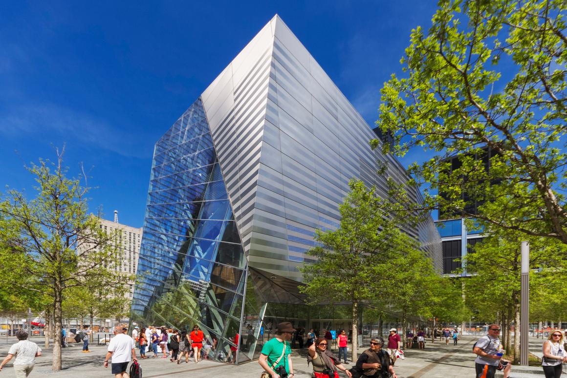 The National September 11 Memorial Museum pavilion, by Snøhetta (Photo: Jeff Goldberg/ESTO)
