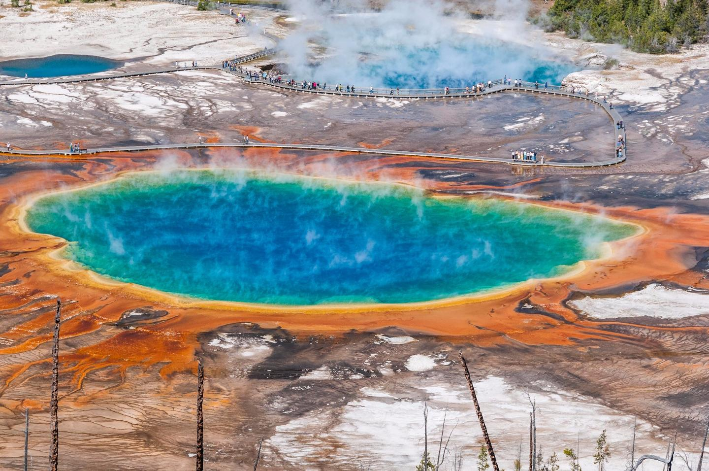The last time the Yellowstone supervolcano erupted, it caused a climate-altering volcanic winter