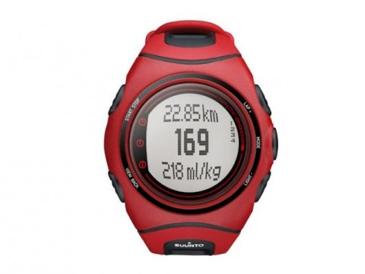 The Suunto t6c Red Arrow heart rate monitor