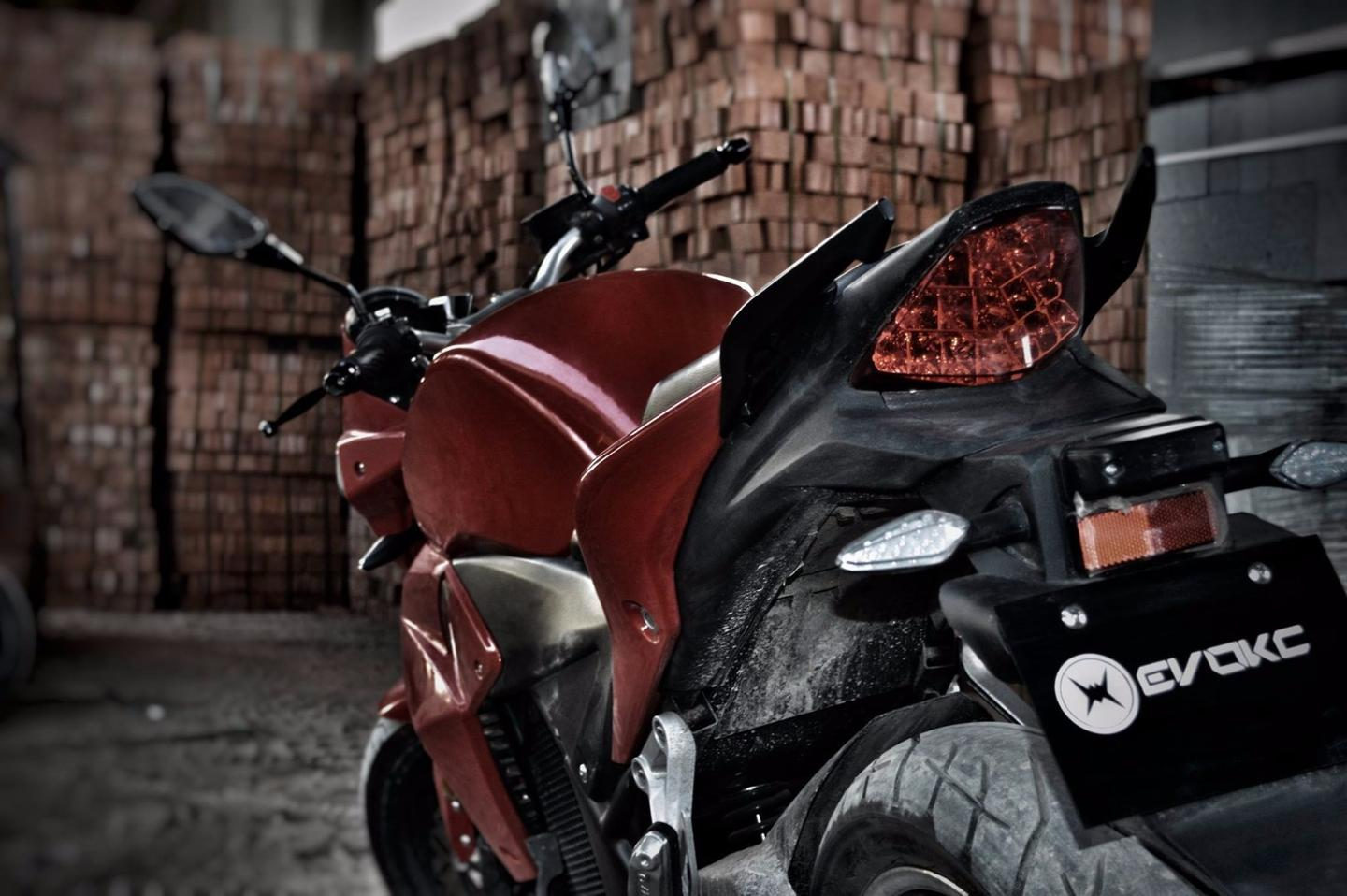 The Urban S is currently the only Evoke motorcycle on offer