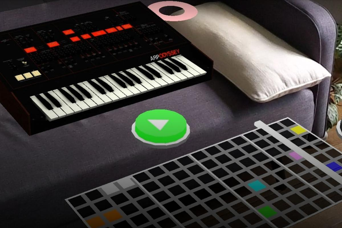 Five classic synths can be placed in your living room with Google's AR Synth experiment