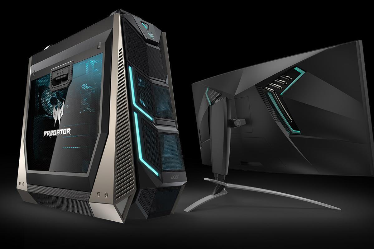 The new Predator Orion 9000 and 35-inch gaming monitor
