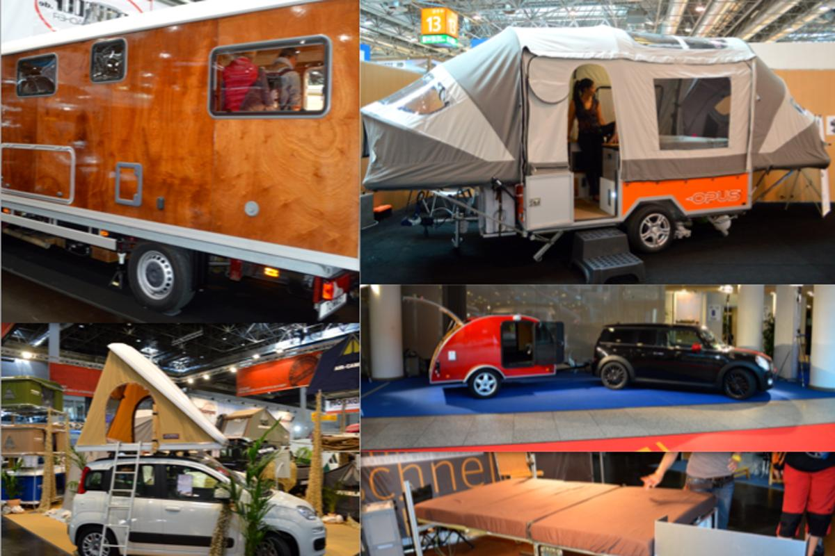 Campers of the 2013 Dusseldorf Caravan Salon