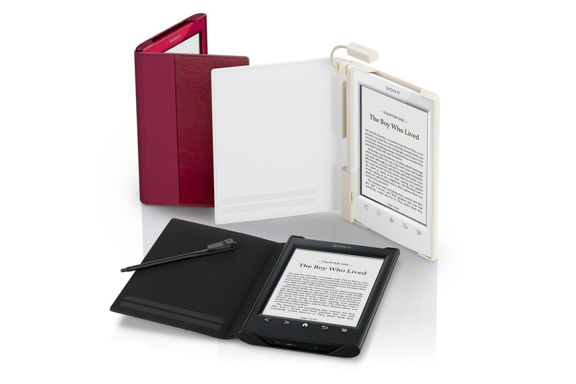 Sony's new 6-inch touchscreen e-Reader benefits from more paper-like page turns, with improved continuous page turns and a smoother in and out pinch zoom