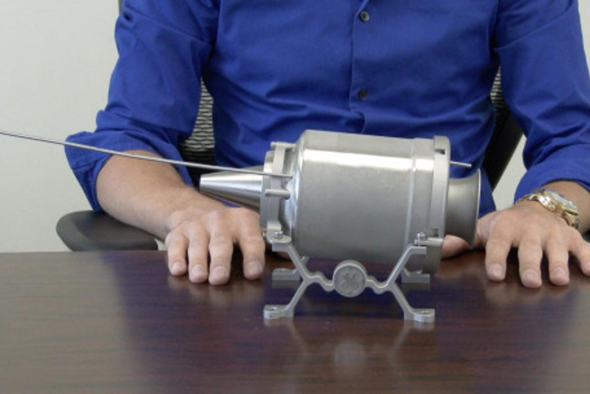 The engine was made entirely of 3D-printed parts (Photo: GE Aviation)