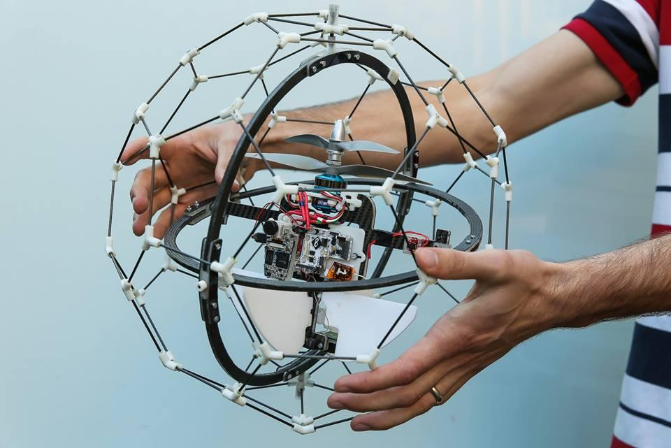 How drones can be prevented from crashing into things, or at least in a way that doesn't put and end to their flight, is a legitimate problem for this burgeoning technology