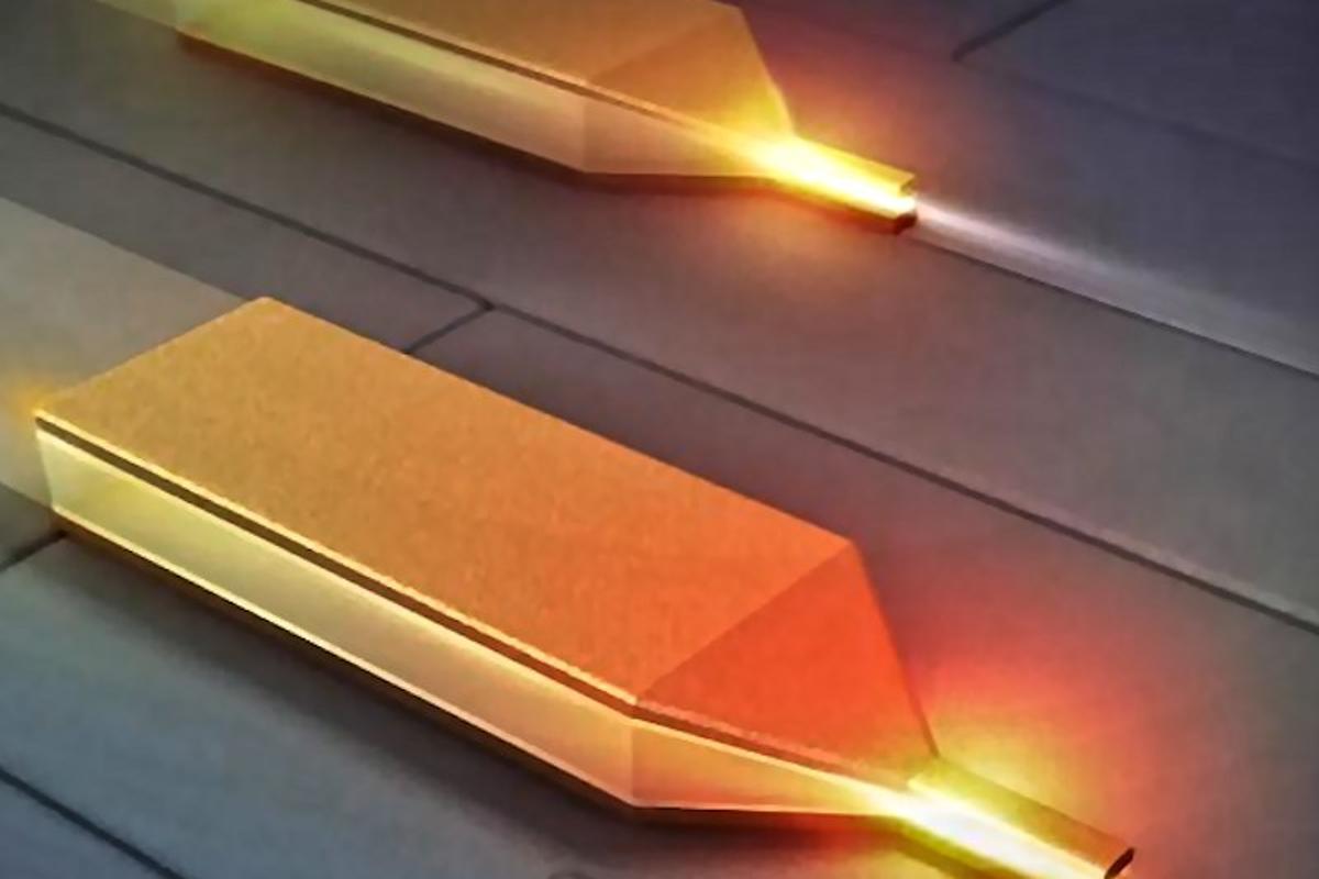 CalTech's new nanofocusing plasmonic waveguide
