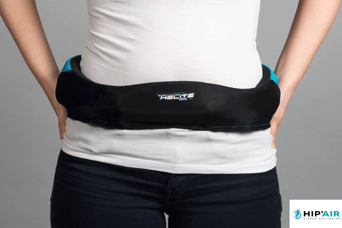 It doesn't look like the most stylish fashion accessory, but the Hip'Air could be the wearer's most important