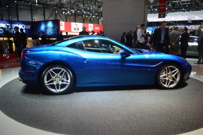 The new Ferrari California T at the 2014 Geneva Motor Show