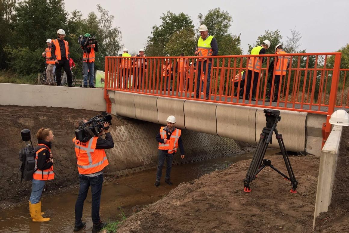 A new3D printed bridge has just opened up in the Netherlands